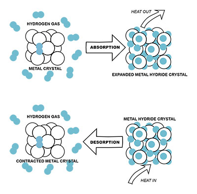 hydrogen absorption